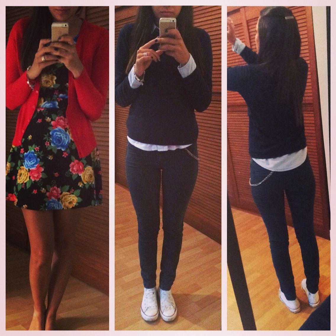 #outfit de la mañana #dress más #outfit para ir a la U #converse #fashion #mycloset  #mystyle #zin #U