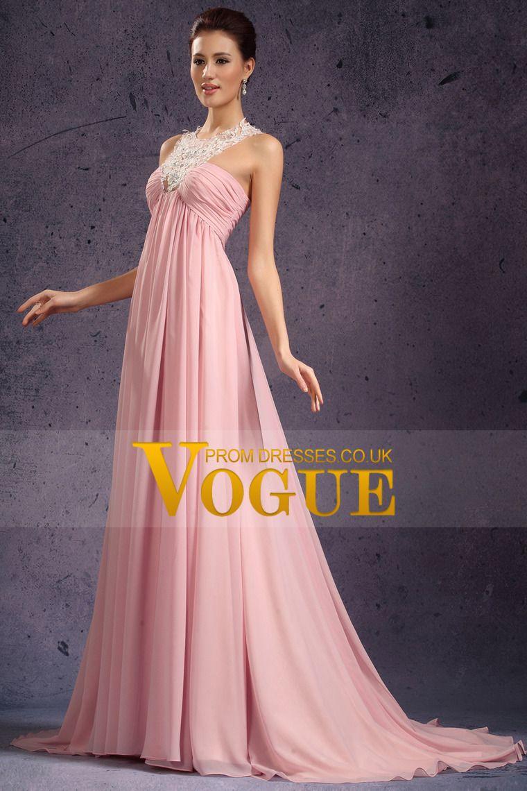 Unusual Prom Dresses V Neck Empir Waist Court Train New Style ...