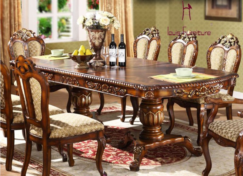 American Rectangular Dining Table Set Aliexpress Com Classic