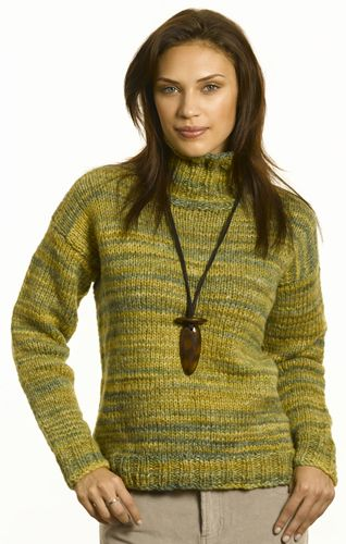 Berroco® Free Knitting Pattern | Doreen; Turtle neck sweater ...