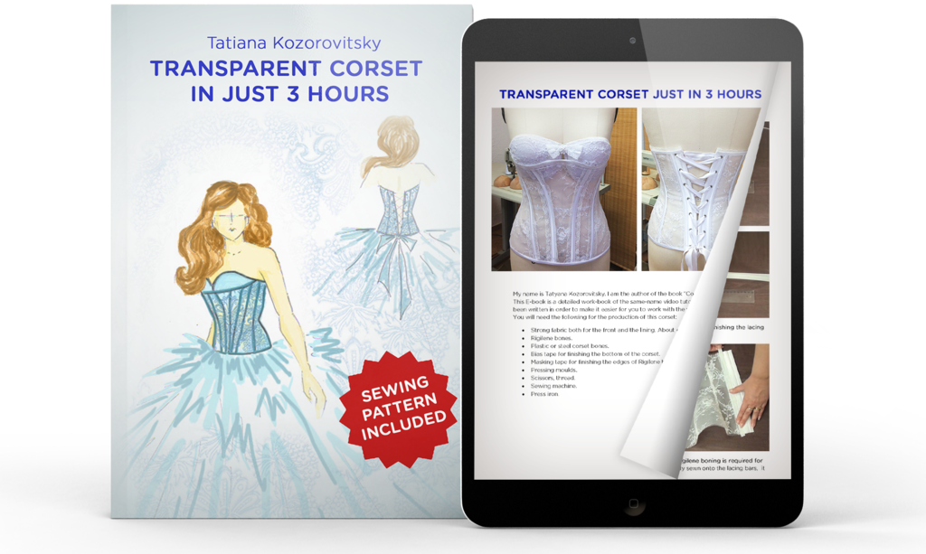 how_to_make_corset_free_sewing_pattern | vestidos | Pinterest ...