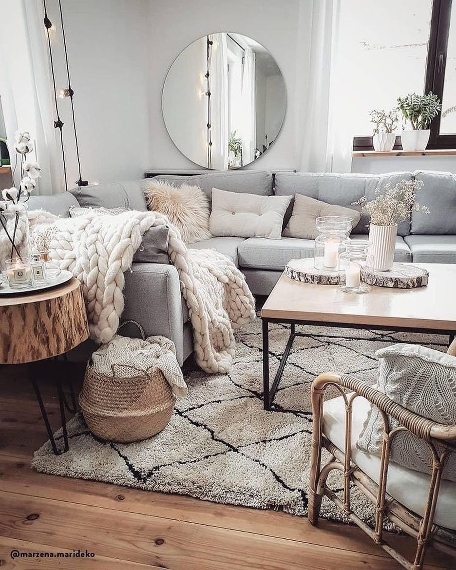 17 Decorative Ideas for Your Gray Living Room