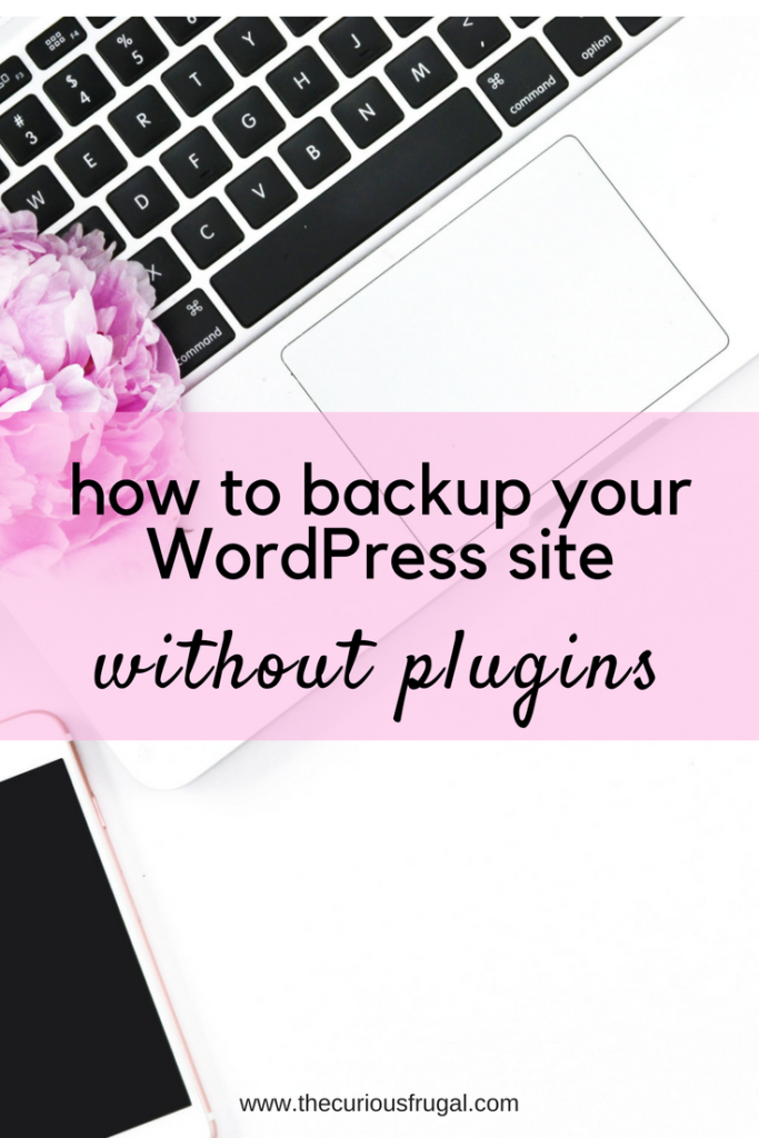 An easy way to do a WordPress backup without plugins or