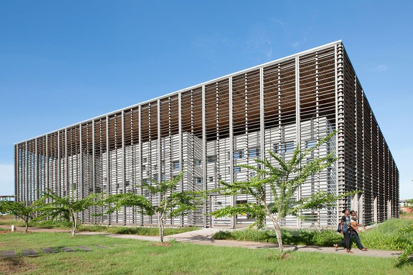 university of guiana library by rh architecture in cayenne