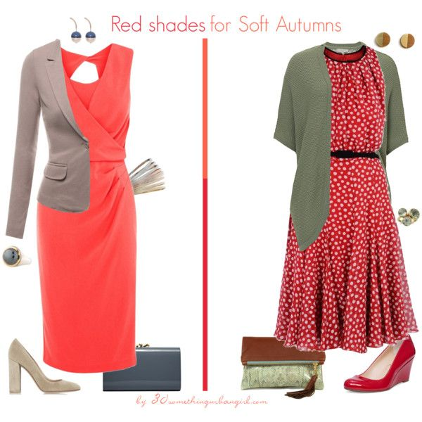 8775c433e6a6 Red Shades for Soft Autumns by thirtysomethingurbangirl on Polyvore  featuring MaxMara