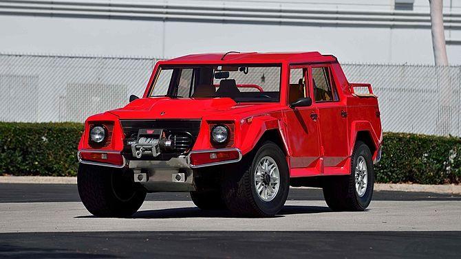1990 Lamborghini Lm002 1 Of 48 Us Market Trucks Produced Mecum