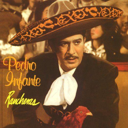 Pedro Infante 16 Exitos Rancheras Album Cover