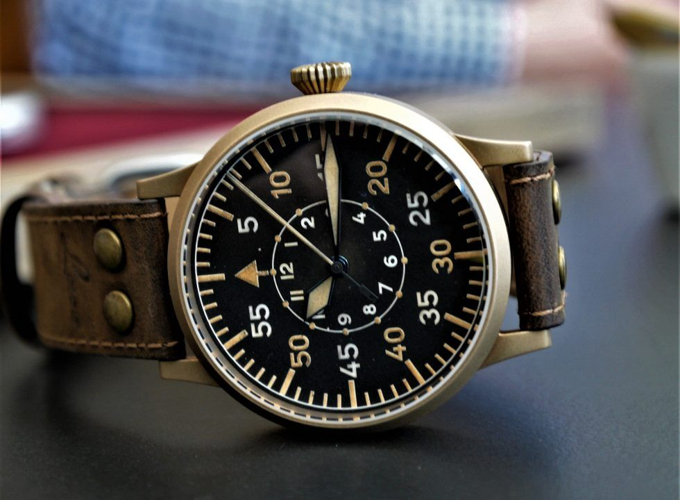 Laco Flieger bronze | watch it bro | Watch companies