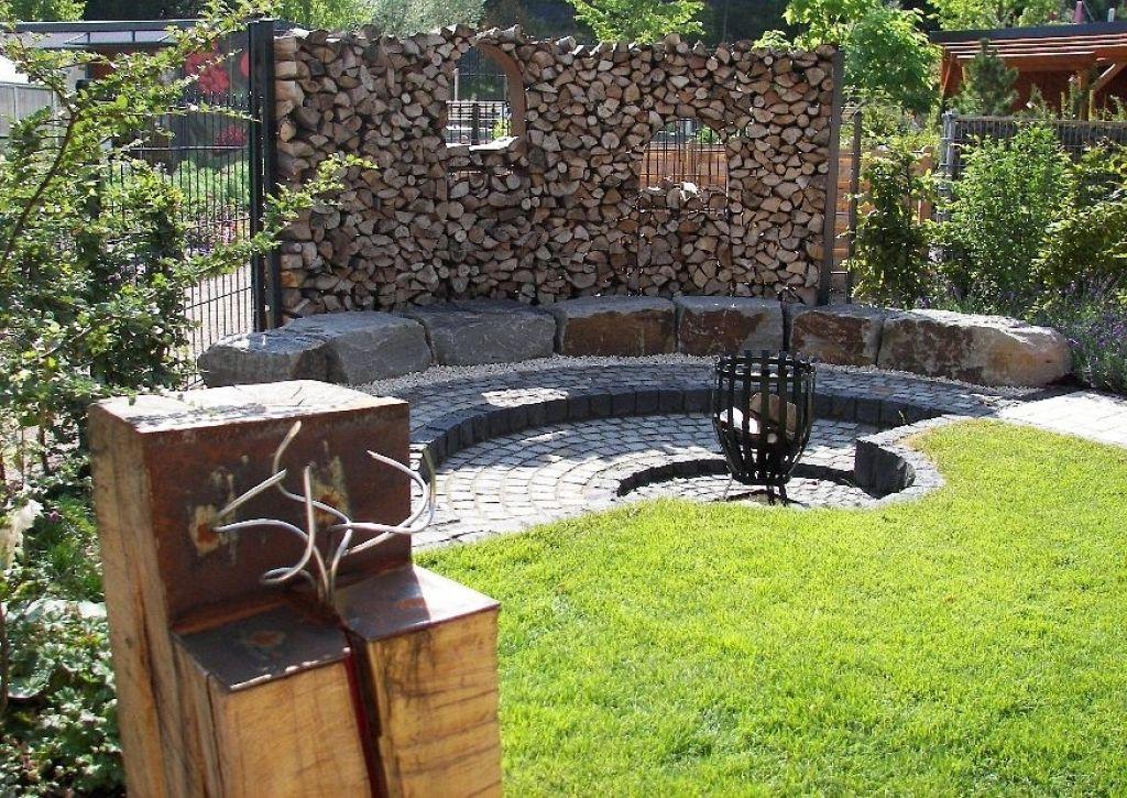 Lieblich Grillplatz Anlegen Ein Familiengarten Reihenhausgarten