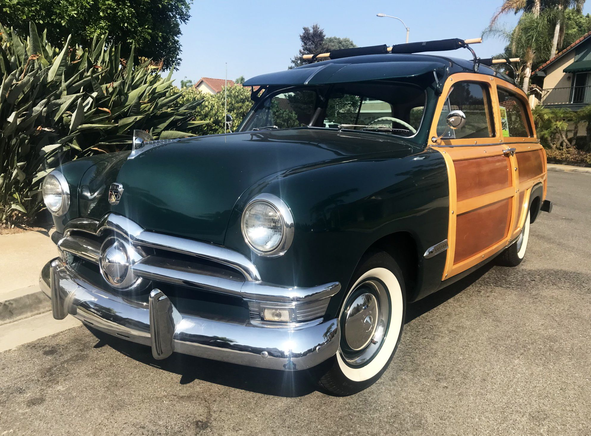1950 Ford Country Squire Woodie V8 Woody wagon, Ford
