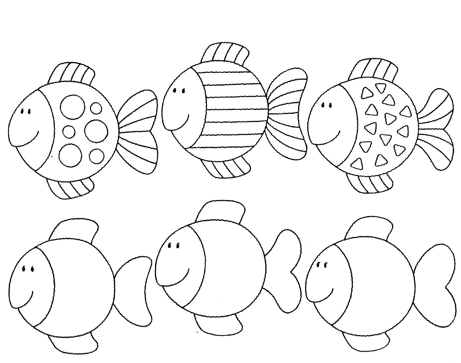 Vissen Vis Vis Sjabloon Thema