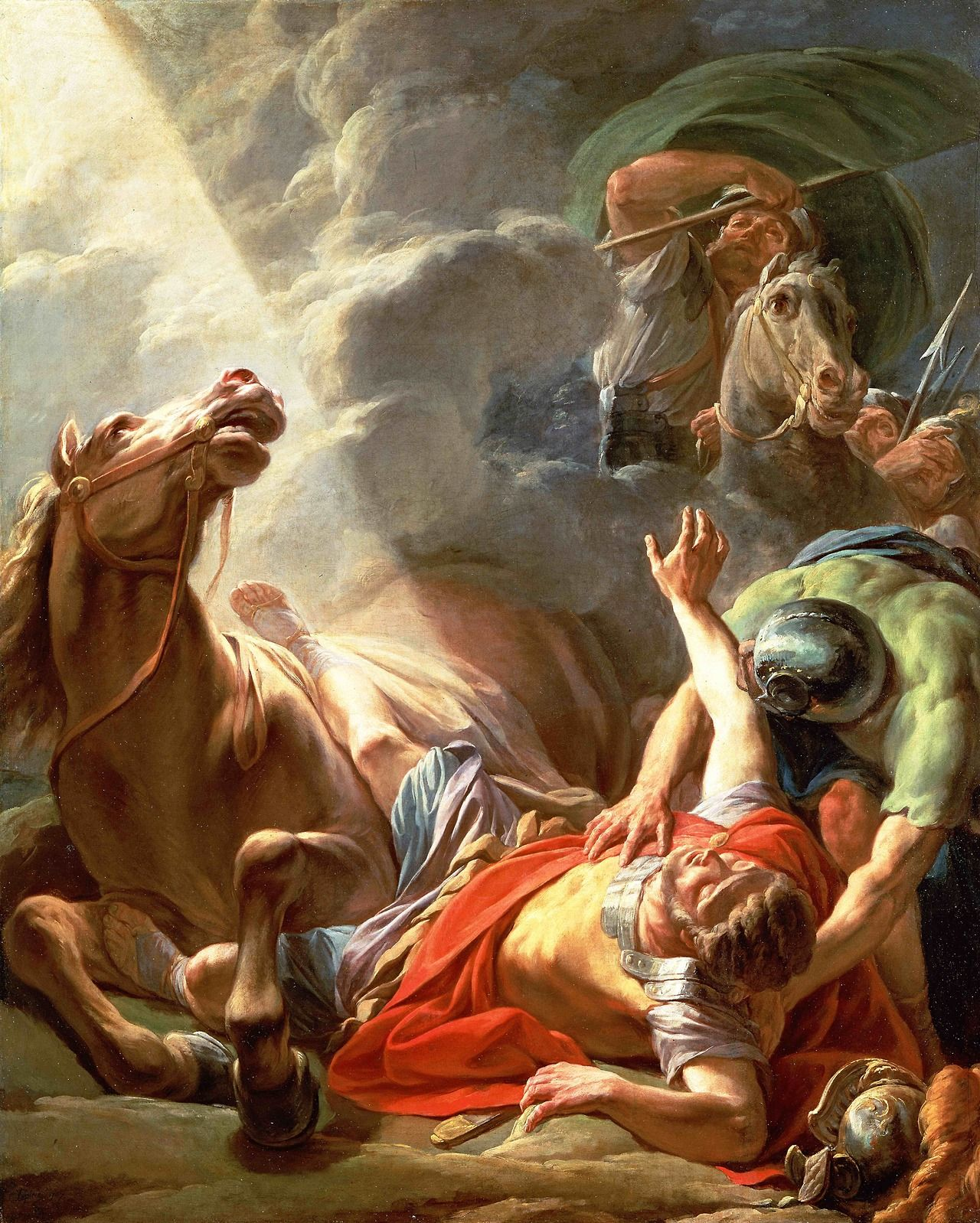 Sunday's Gospel features Jesus' stunning rebuke of St