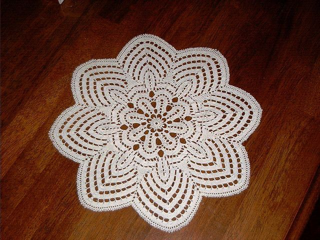nosegay doily by snailspirals, via Flickr | crochet | Pinterest
