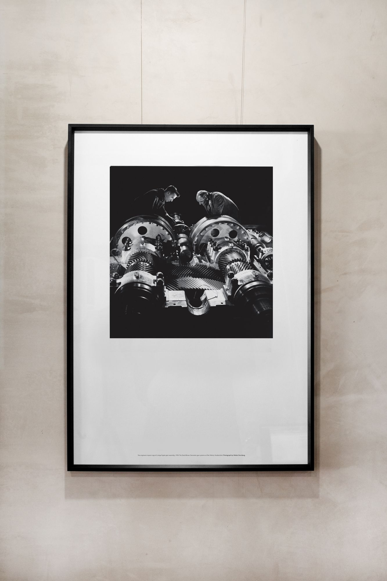 Man Made Poster: Gear Assembly  £55.00  A2 Poster printed on Hahnemuhle Photo Rag paper. Sold unframed.