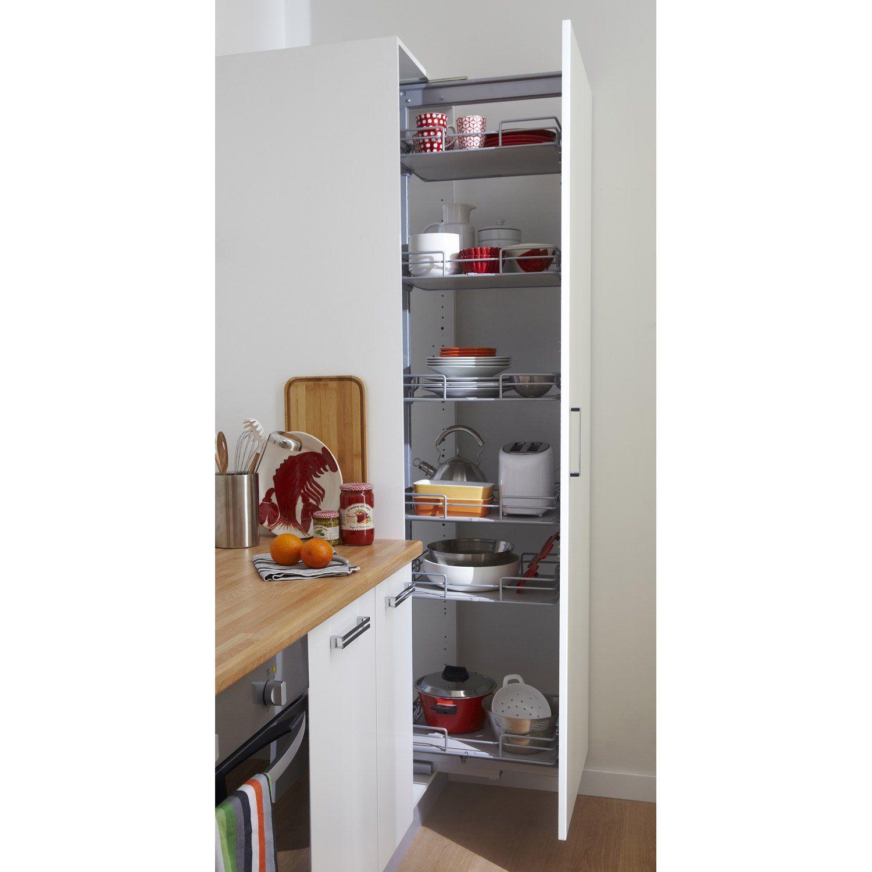 Meuble Colonne Cuisine Leroy Merlin image associée | meuble cuisine, rangement et rangement cuisine