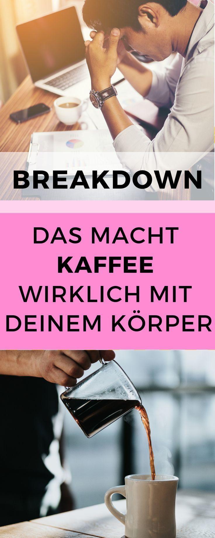 Das passiert, wenn du Kaffee trinkst! Kaffee Gesundheit, Kaffee ungesund, Kaffee ...   - Fitness Lif...