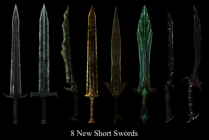 how to draw skyrim weapons