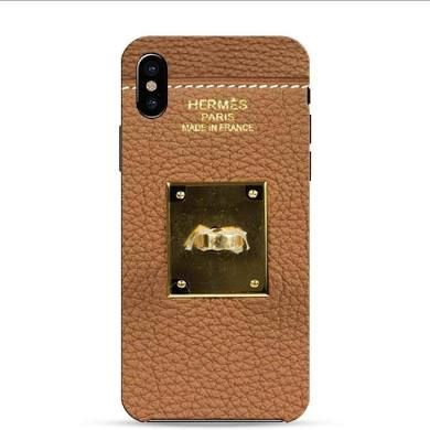 buy online 5a9da 2e4b9 Hermes Birkin Gold iPhone X 3D Case | iphone x case | Iphone, Iphone ...