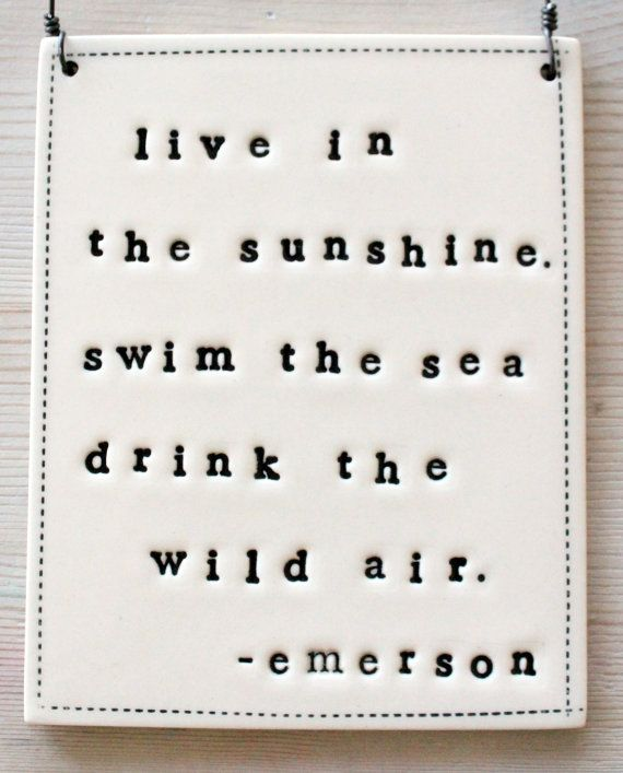 Aa Stock Quote Plaque Emerson Quotein Stock  All Things I Love  Pinterest .