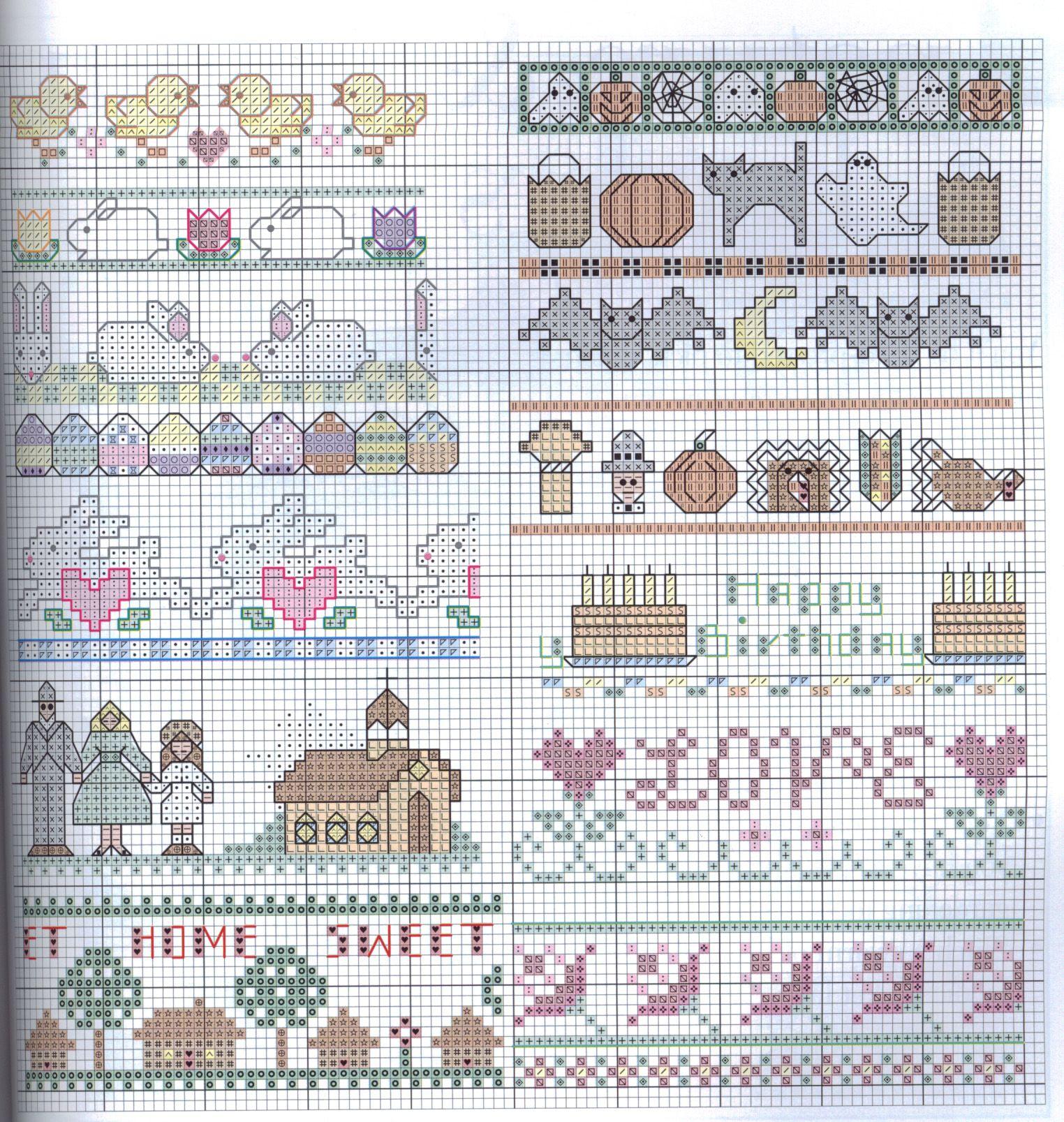 pinrabab qadan on small patterns  cross stitch cards