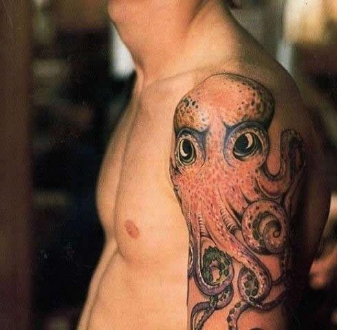 john frusciante octopus tattoo | Tatoo, Looks