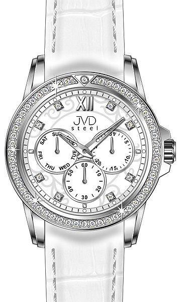 dámske hodinky JVD steel  c28f9ffb35f