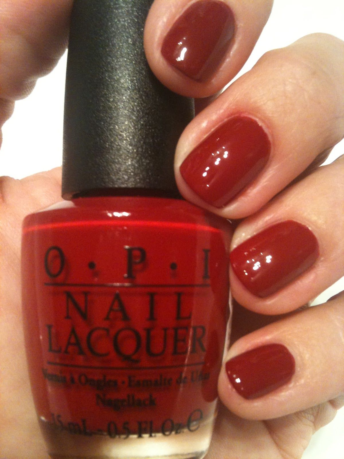 OPI Chick Flick Cherry - the perfect red | A Few Of My Favorite ...