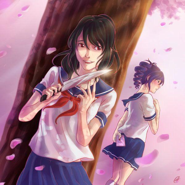 Confession By Ichimada Yandere Simulator Yandere Yandere Anime