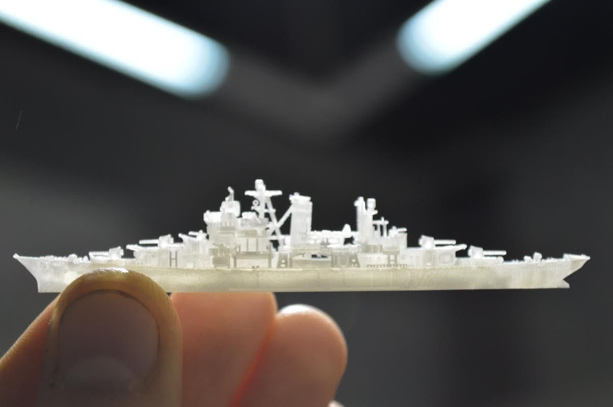 The Detail on This Tiny 3InchLong 3D Printed Ship Will