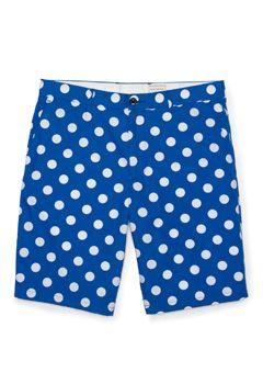 Maddox Polka-Dot Short by Club Monaco, $74.50