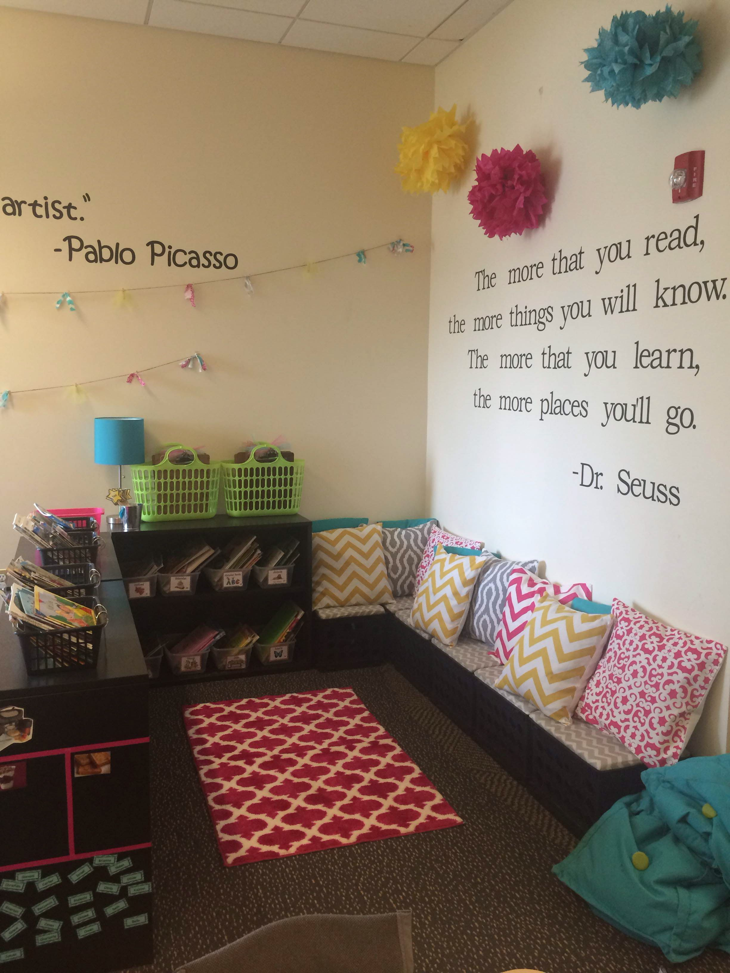 Classroom Layout Design Ideas ~ Reading corner classroom pinterest