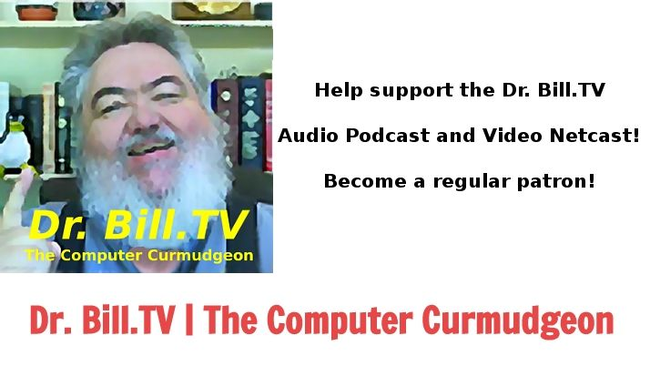 Support Dr. Bill Bailey creating Podcasts
