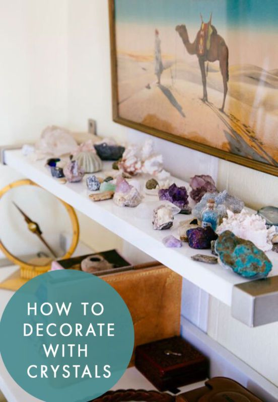 How-To-Decorate-With-Crystals- | Plantastic in 2019 | Home ...