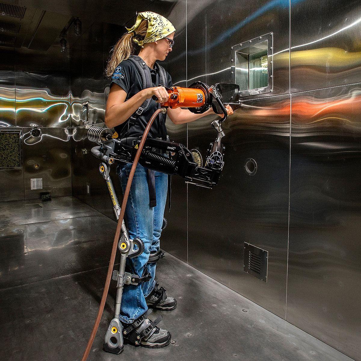 Cyberpunk High Tech Low Life R Cyberpunk Powered Exoskeleton Lockheed Fortis