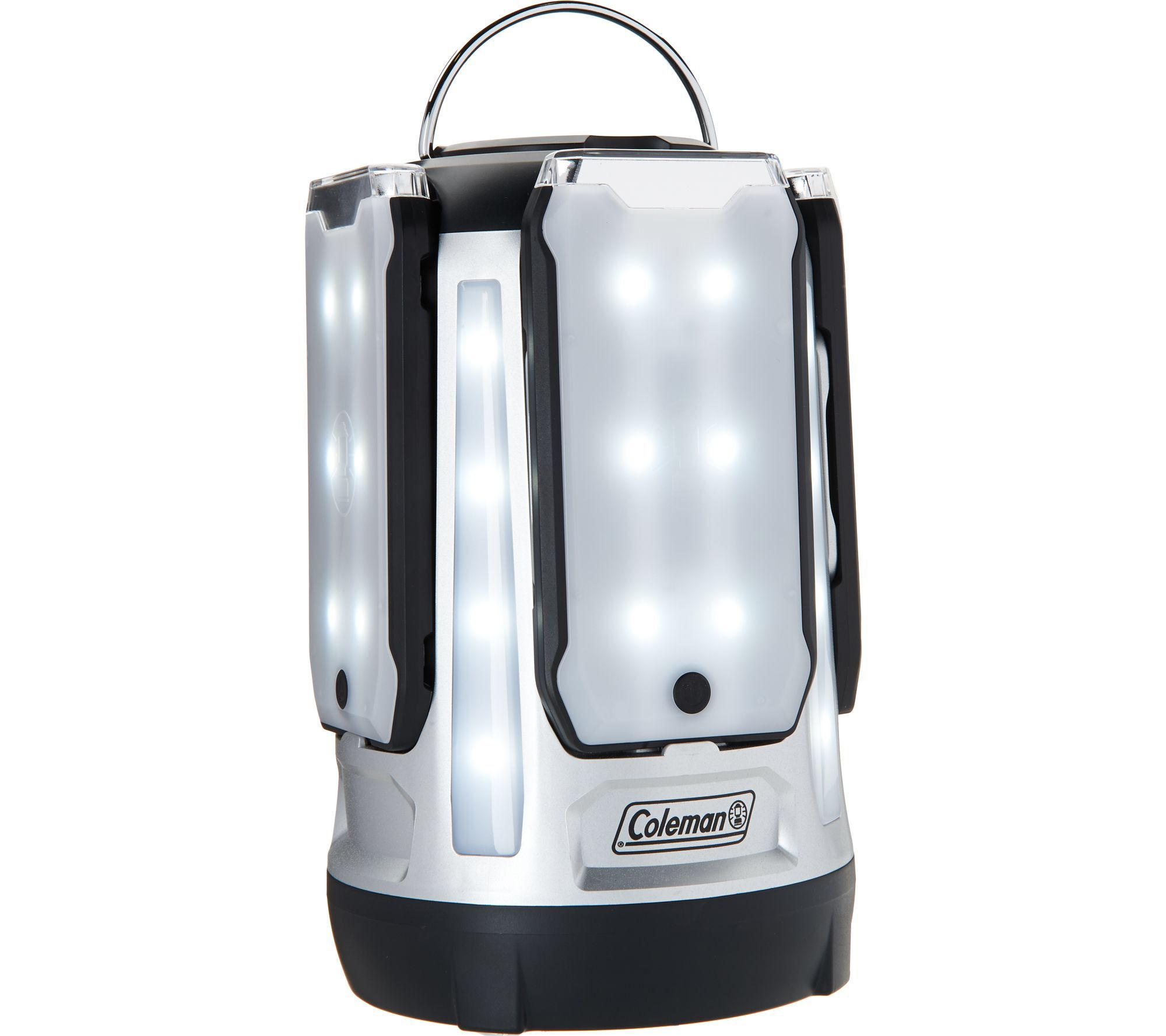Coleman LED Quad Pro Hi/Med/Low Lantern w/ Magnetic Panels