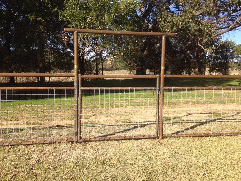 Pipe fence | Fencing in 2019 | Pipe fence, Farm fence, Fence gate
