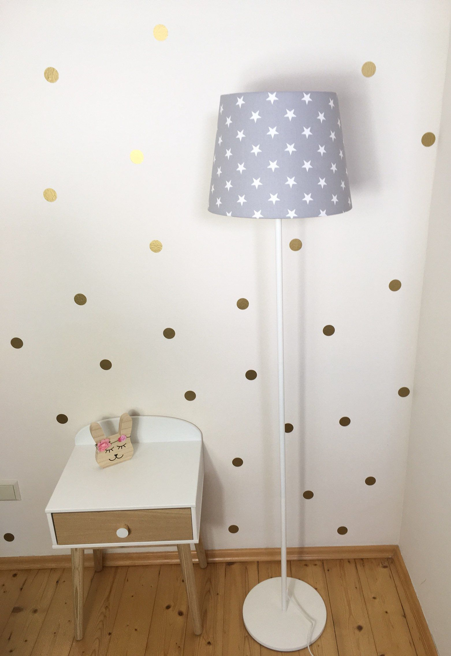 Babyzimmer Deko Sterne Floor Lamp Children S Room Star Grey Children S Lamp Children S