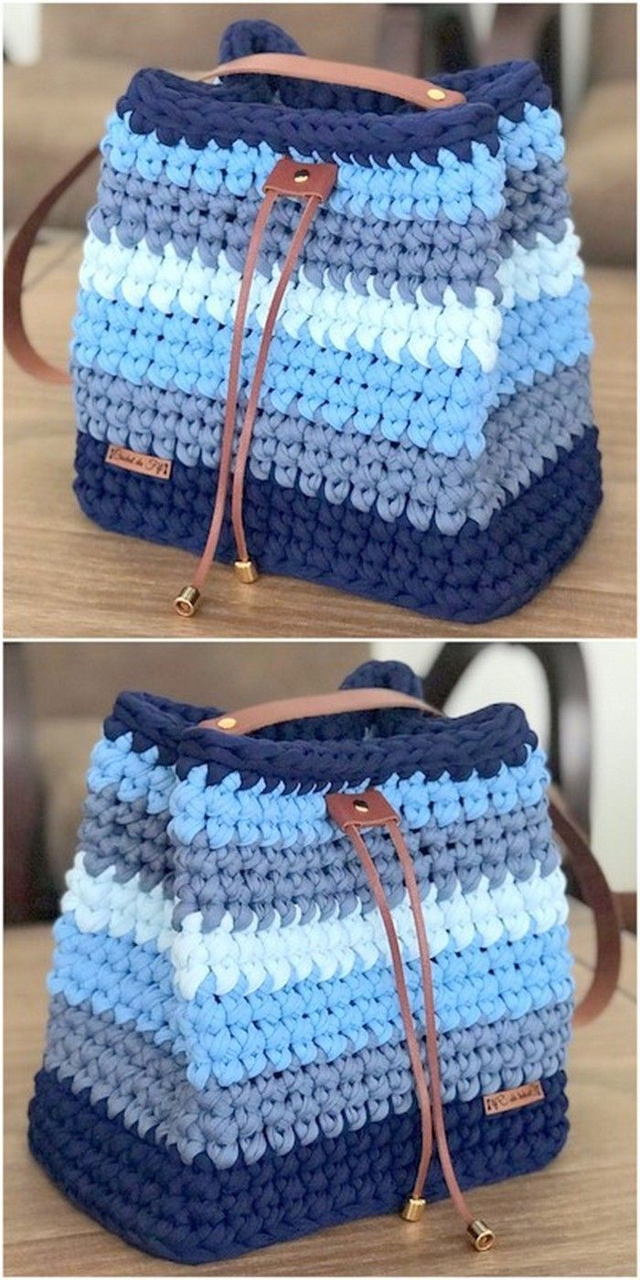 60 New And Stylish Designs Of Crochet Free Patterns #crochethandbags