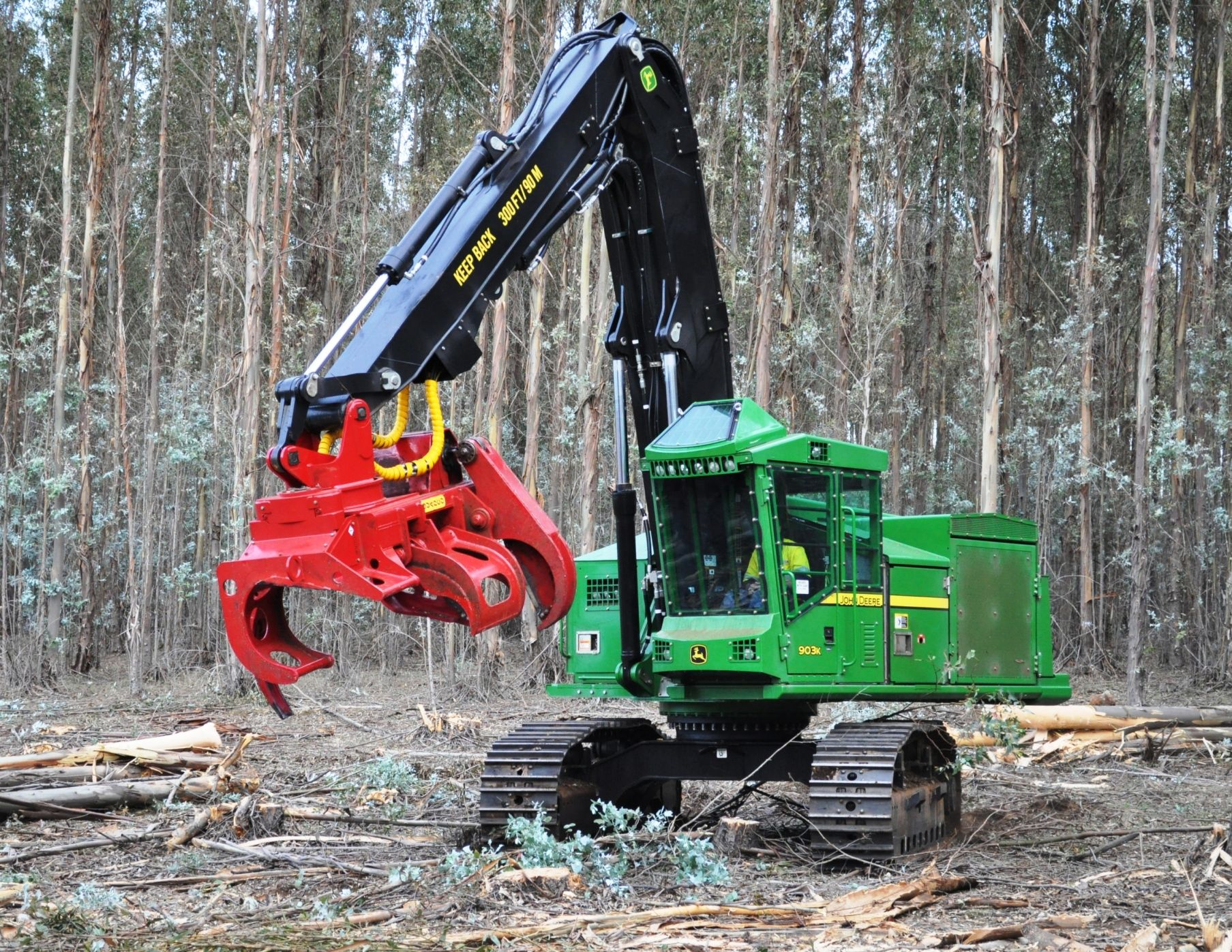 John Deere 903K at Manjimup, WA | Hitachi Construction ...