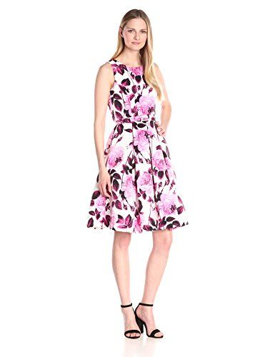 5809887c518 Lower price on certain sizes! Eliza J Women s Floral Fit and Flare ...