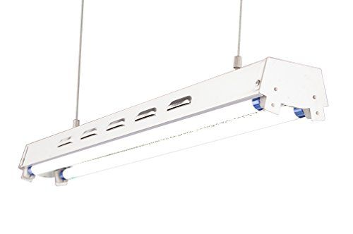 Durolux Dl822s T5 2ft 2 Fluorescent Lamps Grow Lighting System With 5000 Lumens And 6500k Full Spectrum And Supe Fluorescent Lamp Lighting System Indoor Garden