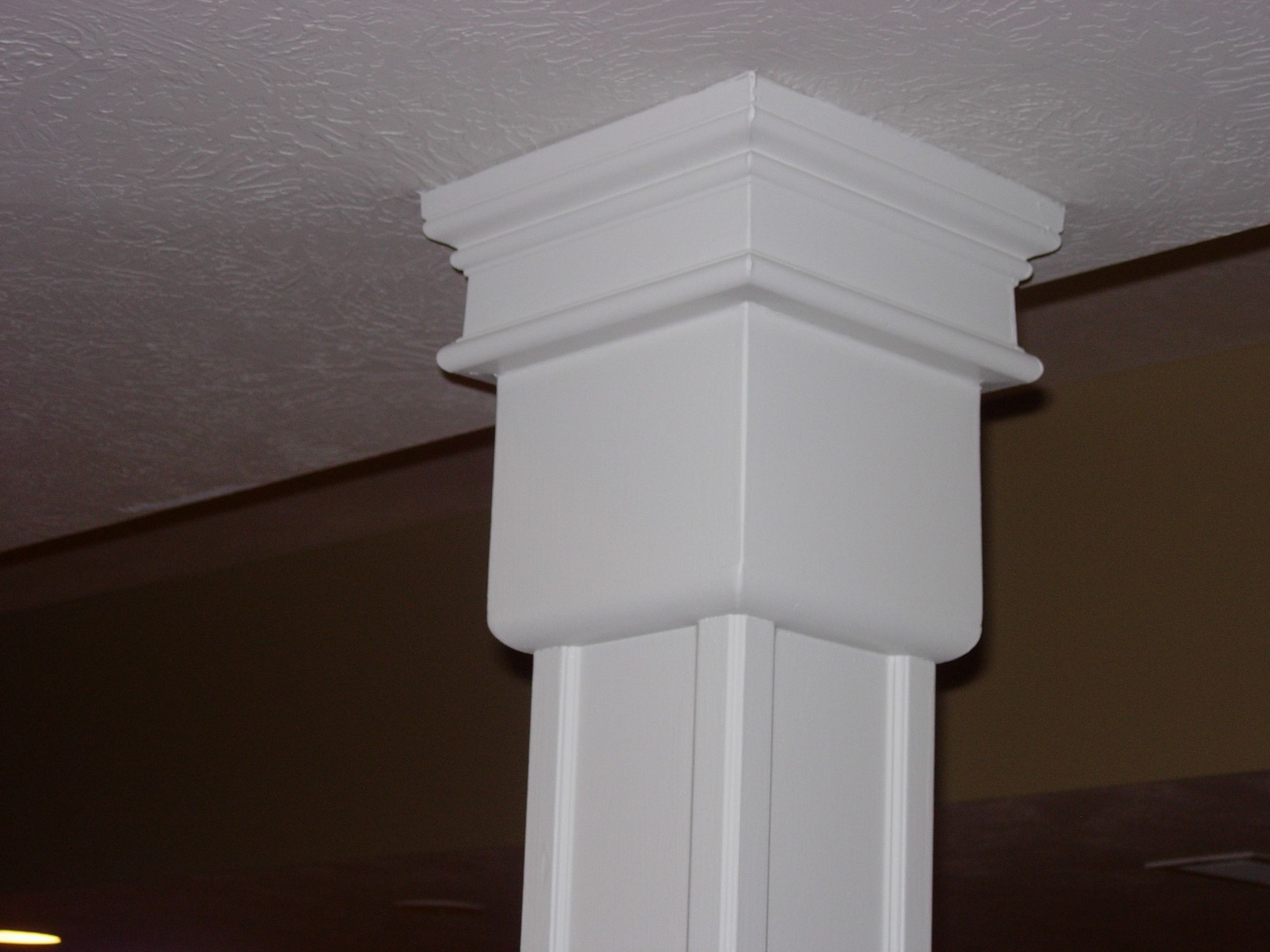 Column Molding Ideas Inexpensive Basement Pole Covers Ideas Http Wwwkoniwavescom