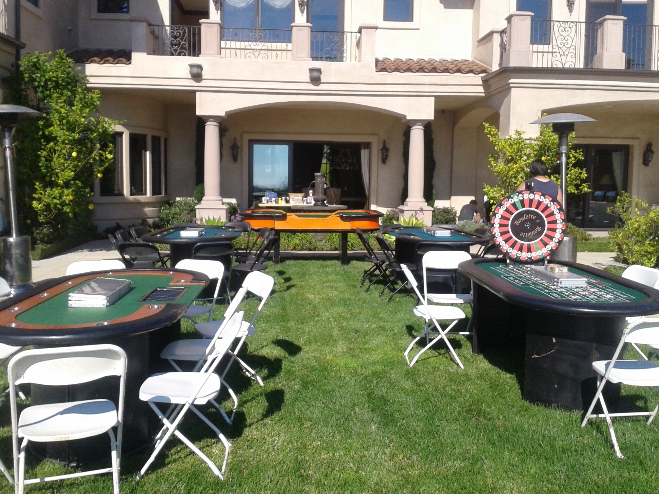 Backyard Casino Themed Party 08 17 13 Event