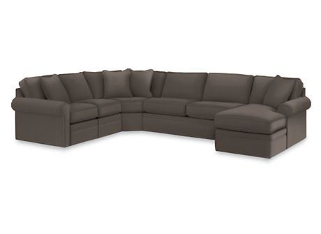 Collins Sofa With Rolled Arms By La Z Boy At Morris Home