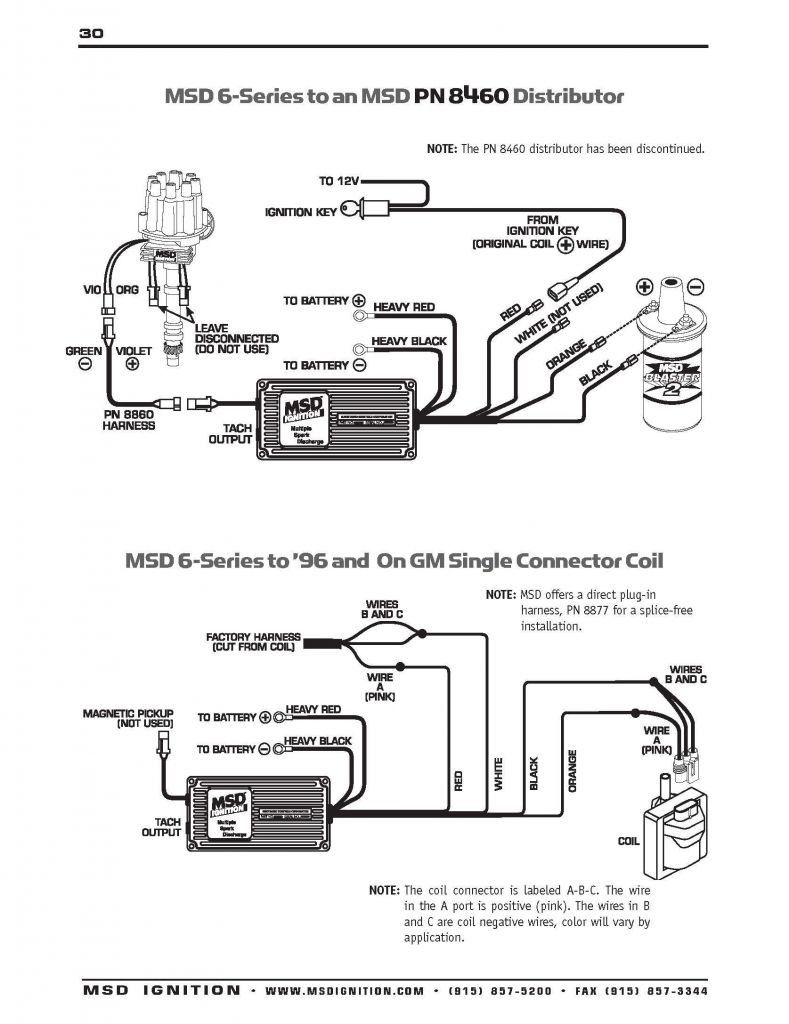 Hei Distributor Wiring Diagram Chevy 350 Zookastar | Ignition coil, Msd,  DiagramPinterest