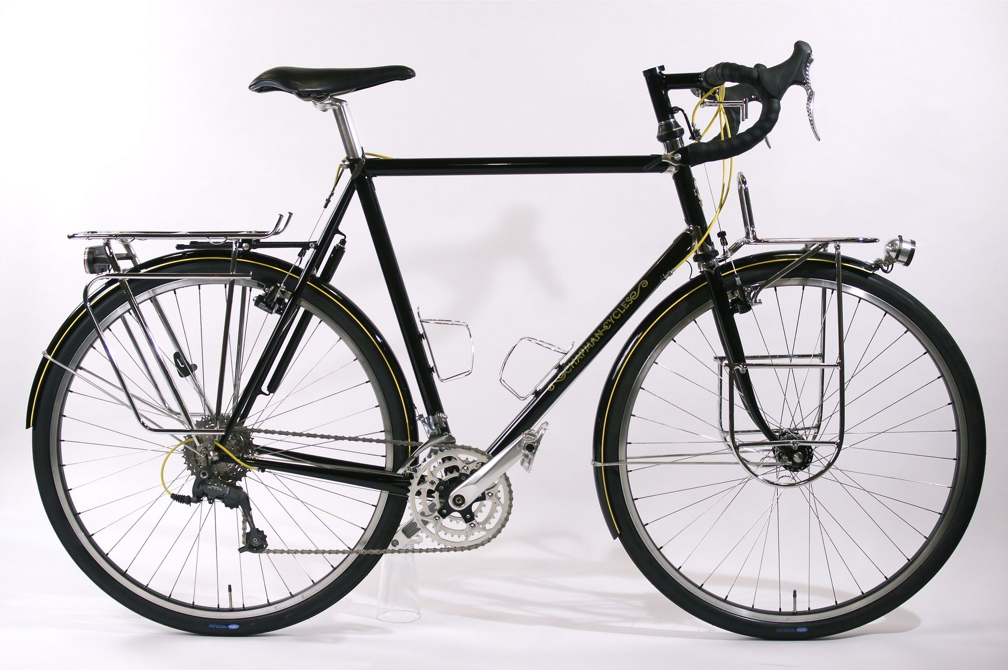 chapman cycles touring bike black pinterest fahrr der. Black Bedroom Furniture Sets. Home Design Ideas