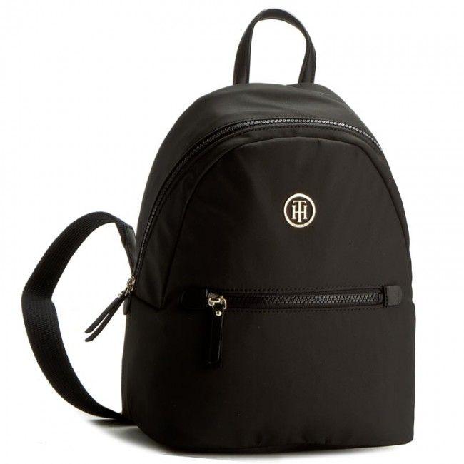Hátizsák TOMMY HILFIGER - Modern Nylon Backpack AW0AW03508 002 Converse 9f28f306a2