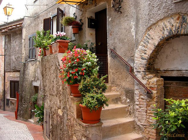 home, italy, village