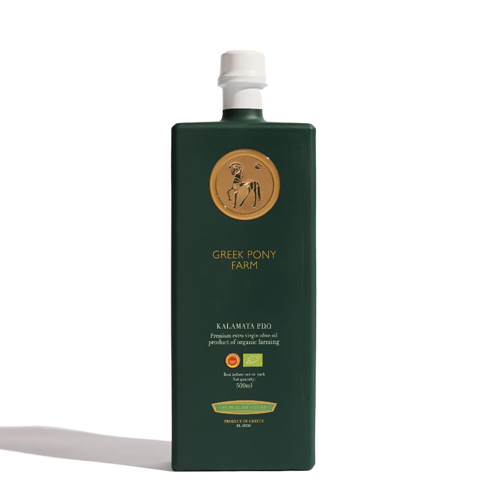 Greek Pony Farm Organic Extra Vigin Olive Oil The Cool Hunter Olive Oil Oils Bottle