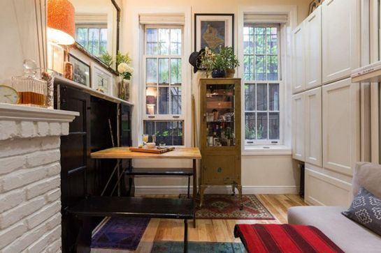 P Inside Nyc S Coolest Tiny Apartment Refinery29